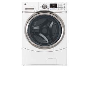 GE Appliances Front Load Washers - GE - 2014 4.3 DOE Cu. Ft. Capacity Frontload Washer