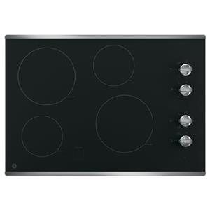 "GE Appliances GE Electric Cooktops 30"" Built-In Electric Cooktop"