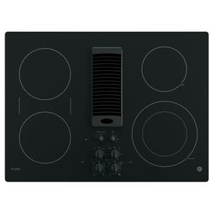 "GE Appliances GE Profile Electric Cooktops Profile™ Series 30"" Downdraft Cooktop"