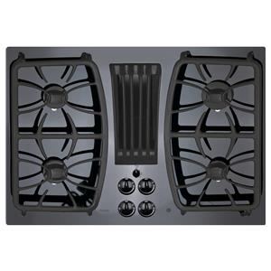 "GE Appliances Profile Gas Cooktops Profile™ Series 30"" Gas Downdraft Cooktop"