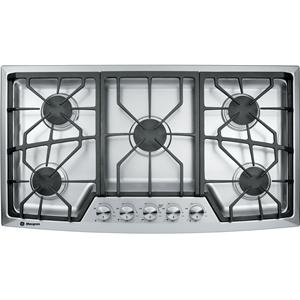 "GE Monogram Rangetops and Cooktops 36"" Built-In Gas Cooktop"