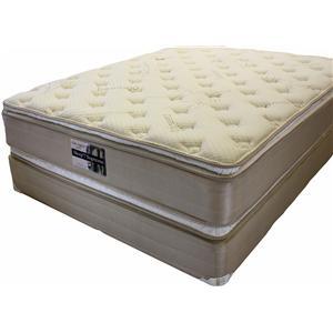 Golden Mattress Company Ortho Support 5000 Full Pillow Top Mattress Set