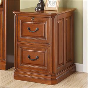 Golden Oak by Whalen Augusta 2 Drawer File Cabinet