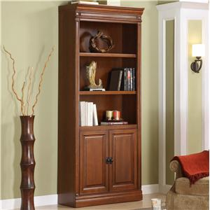Golden Oak by Whalen Augusta Bookcase