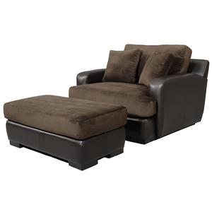 Fairmont Seating Bally Chair and Ottoman