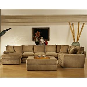 Fairmont Designs Tropicana 3 Piece Sleeper Sectional with Left Chaise