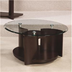 Hammary Apex Round Cocktail Table