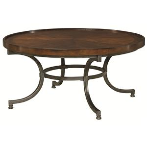 Hammary Barrow Round Cocktail Table