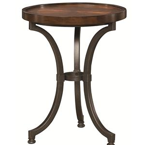 Hammary Barrow Round Chairside Table