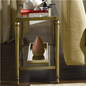 Hammary Elipse Chairside Table