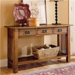 Hammary Canyon Sofa Table