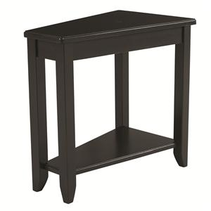 Hammary Chairsides Black Chairside Table