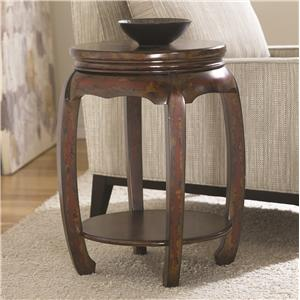 Hammary Hidden Treasures Round Stool