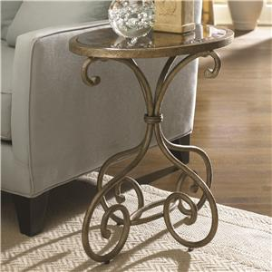 Hammary Hidden Treasures Oval Accent Table
