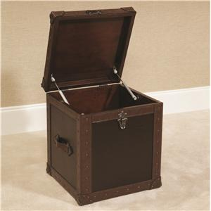 Hammary Hidden Treasures Trunk Cube