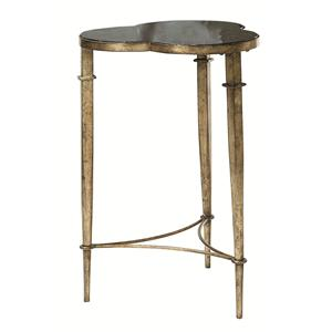 Hammary Hidden Treasures Clover Accent Table