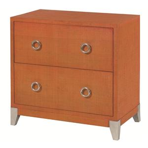 Hammary Hidden Treasures Orange Accent Chest