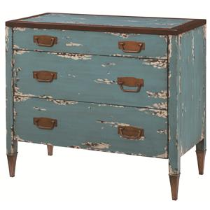 Hammary Hidden Treasures Blue Accent Chest