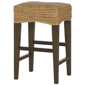 Hammary Hidden Treasures Woven Bar Stool