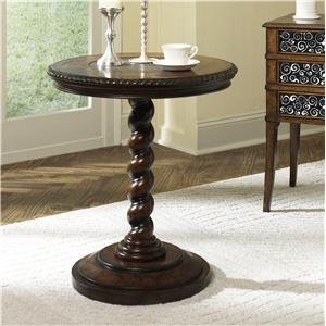 Hammary Hidden Treasures Twisted End Table
