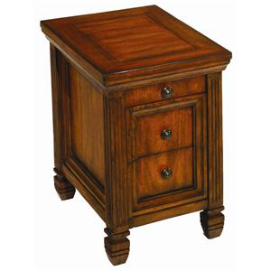 Hammary Hidden Treasures Chairside End Table