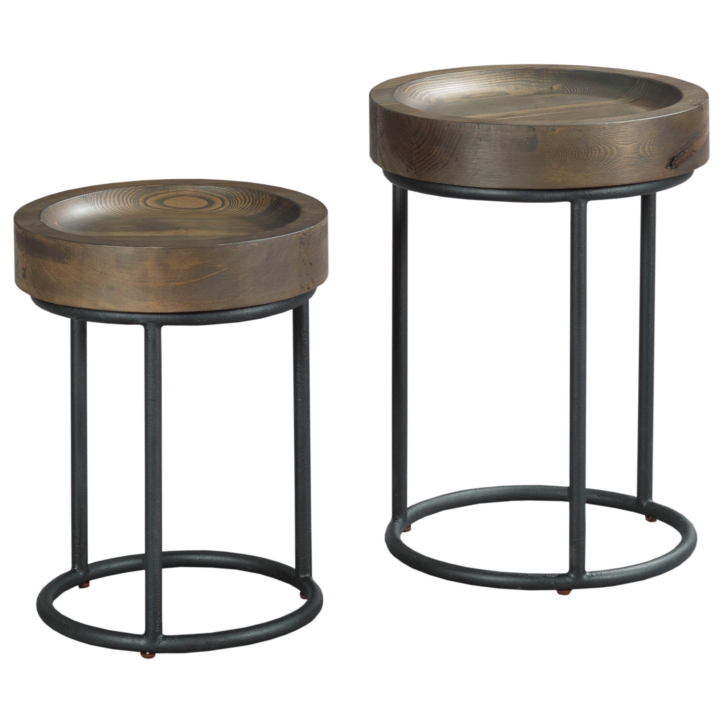 Small U0026 Large Timber Round Tray Table