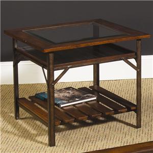 Hammary Mercantile Rectangular End Table