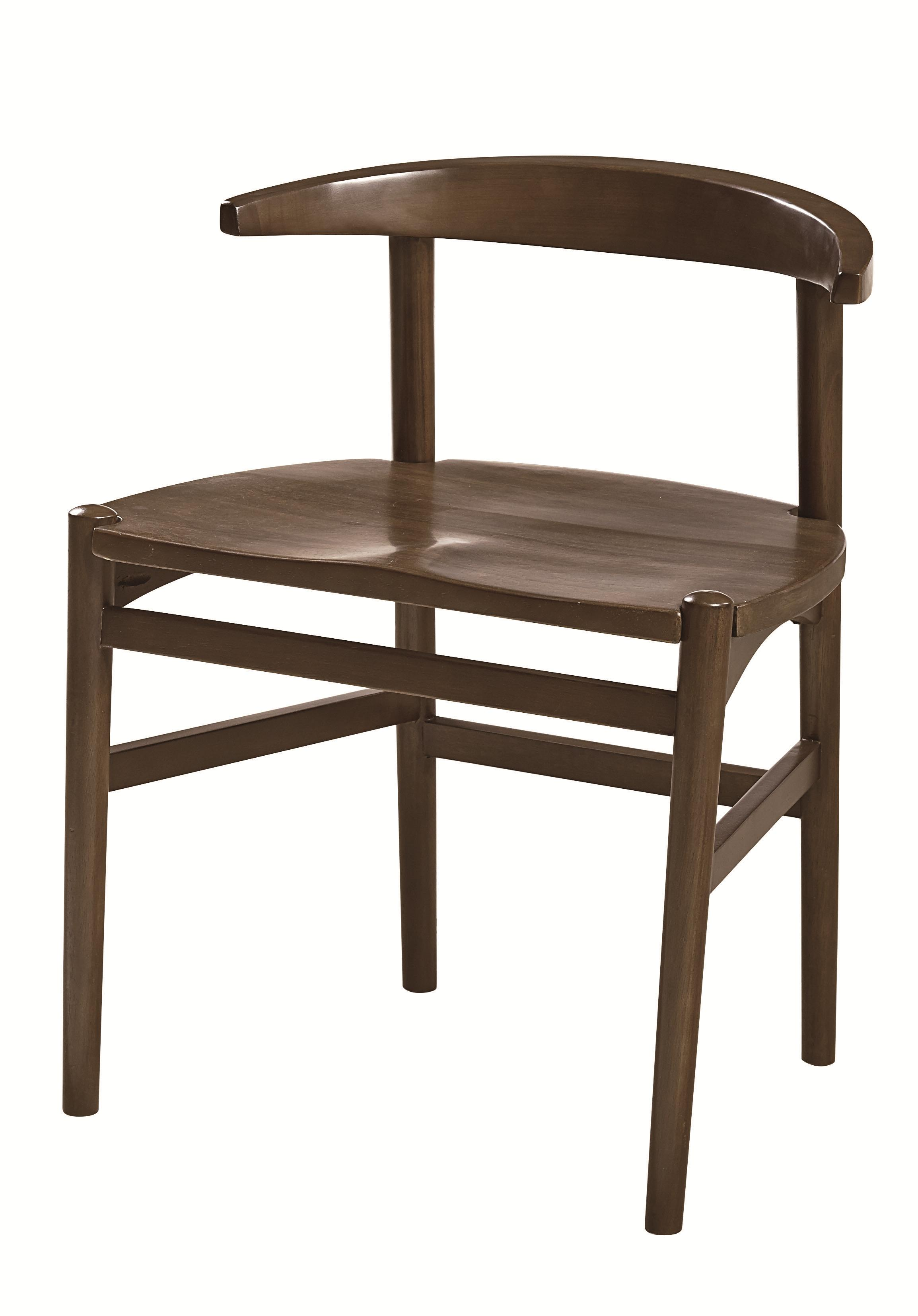 Modern Desk Chair with Bentwood Back by Hammary