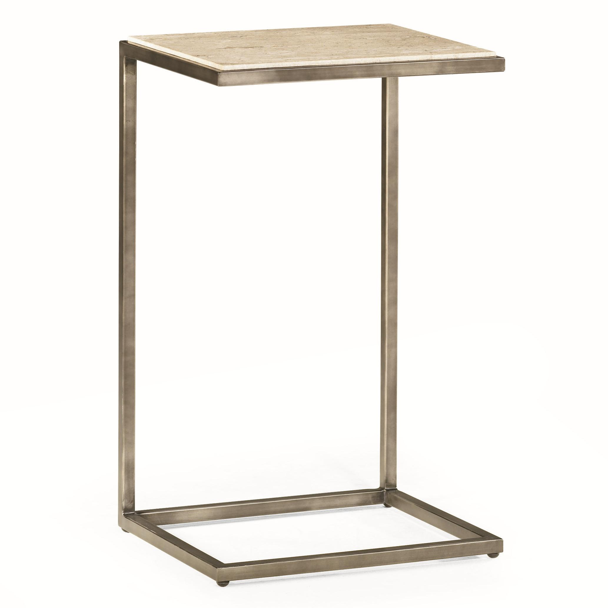 Rectangular Accent Table with Bronze Finish by Hammary