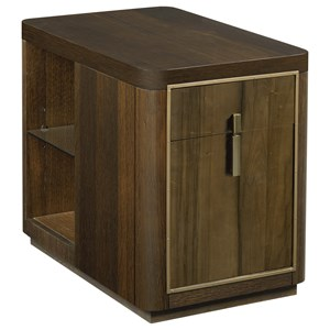 Kern Drawer End Table with File Storage