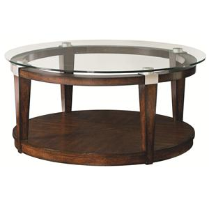 Hammary Solitaire Round Coffee Table
