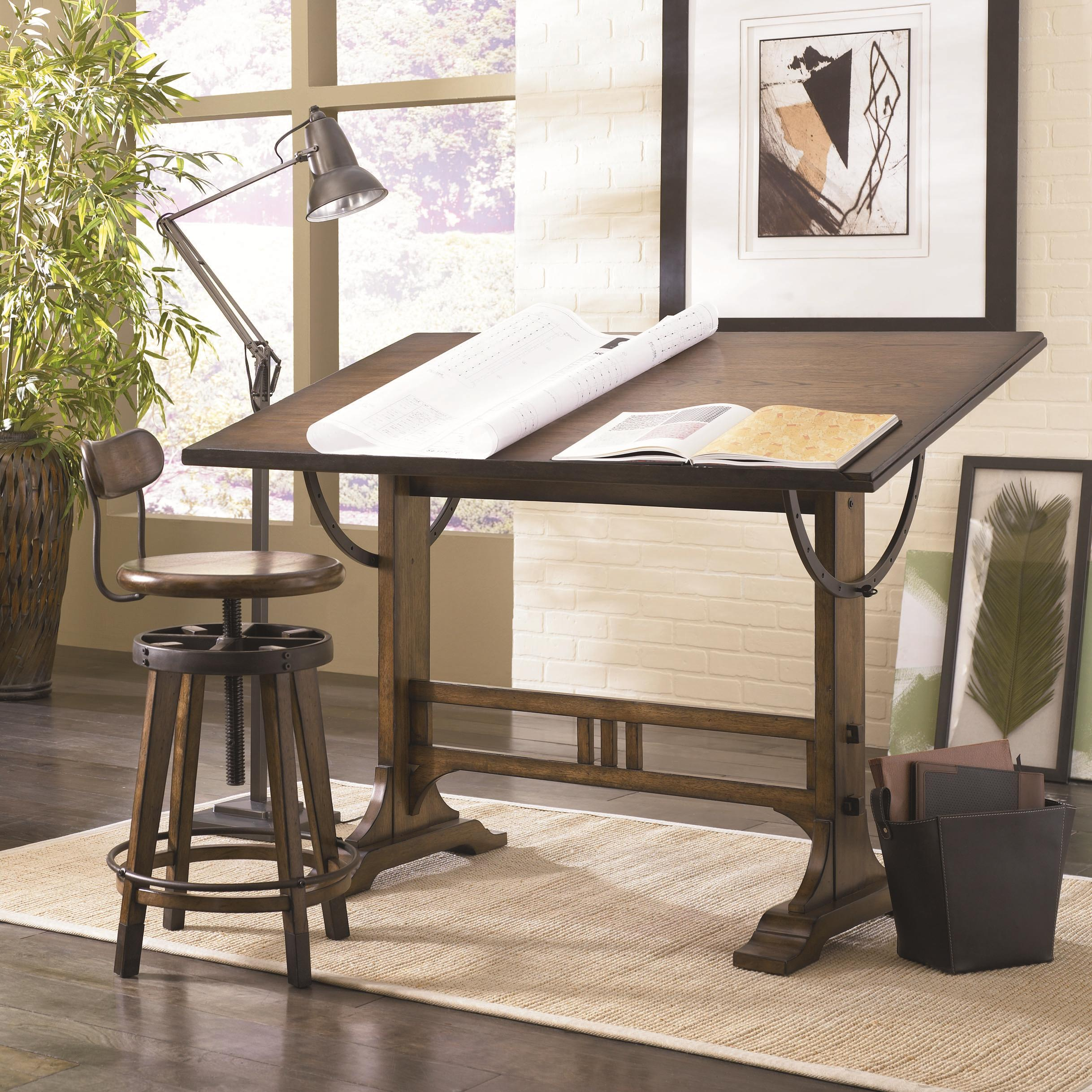 architect office supplies. mission weathered oak architect desk office supplies s