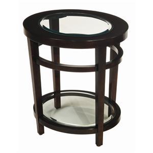 Hammary Urbana Oval End Table
