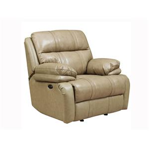 Happy Leather Company 1286 Power Recliner