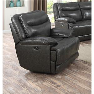 Happy Leather Company Sunnyvale 1282 Power Recliner