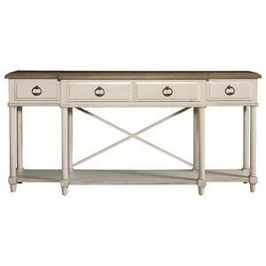 HGTV Home Furniture Collection Caravan  Console Table