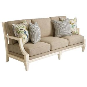 Waters Edge Fret Back Sofa