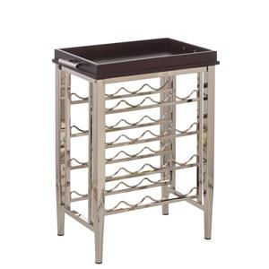 Hillsdale Accents Westown Wine Rack with Removable Try Top