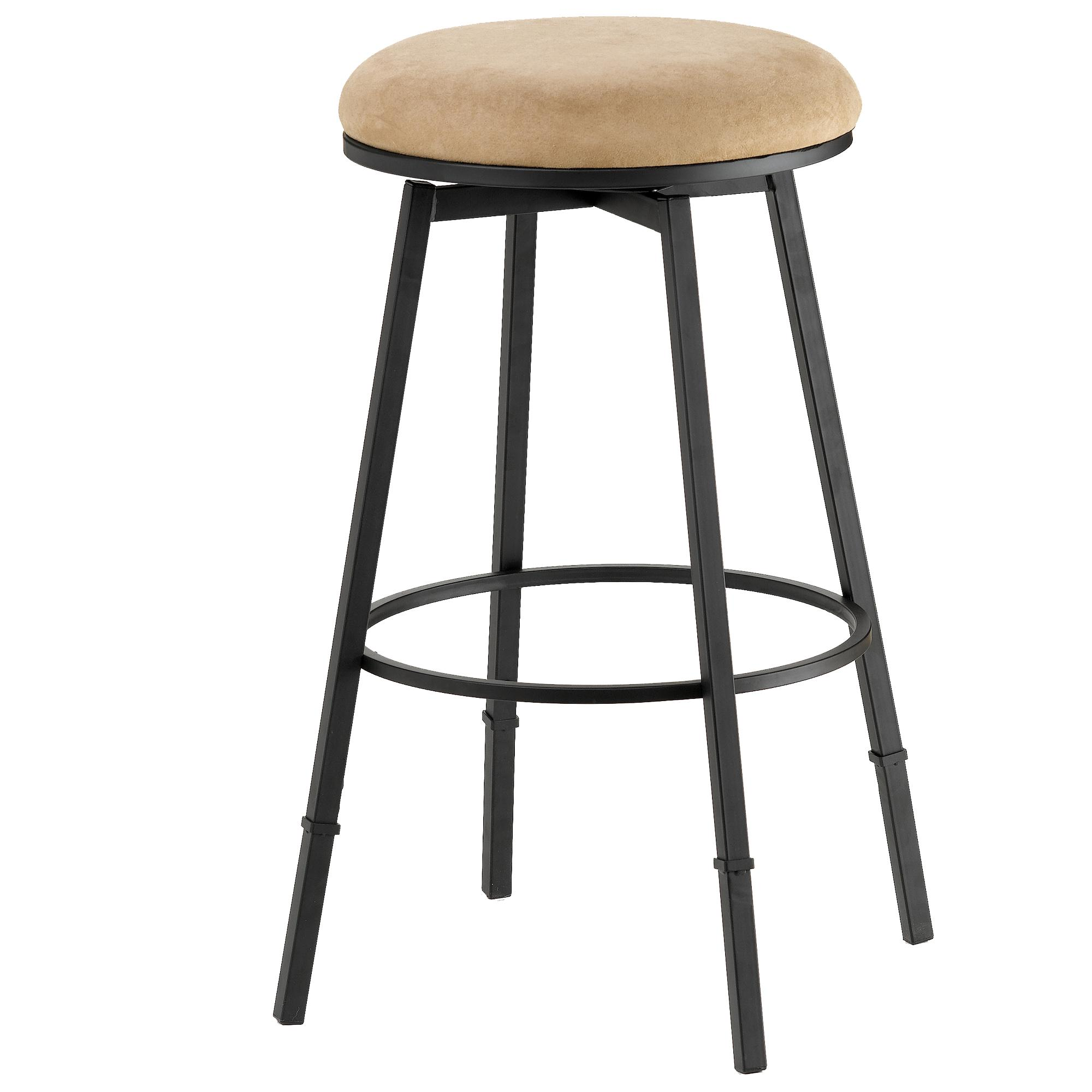 26 Quot Salem Backless Swivel Counter Stool By Hillsdale