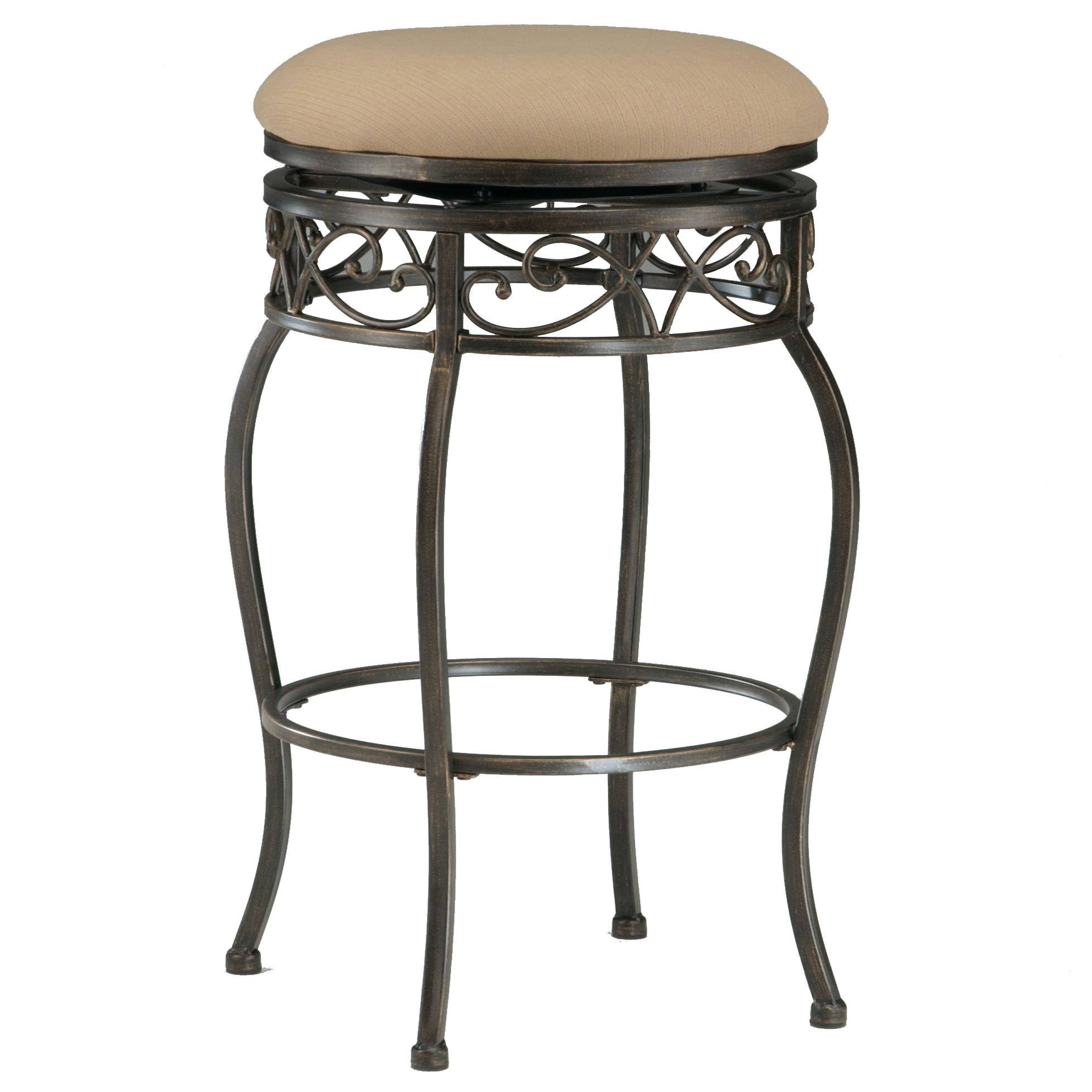 26quot Backless Lincoln Swivel Counter Stool by Hillsdale  : products2Fhillsdale2Fcolor2Fbackless20bar20stools4336 827 b from www.wolffurniture.com size 1955 x 1955 jpeg 174kB