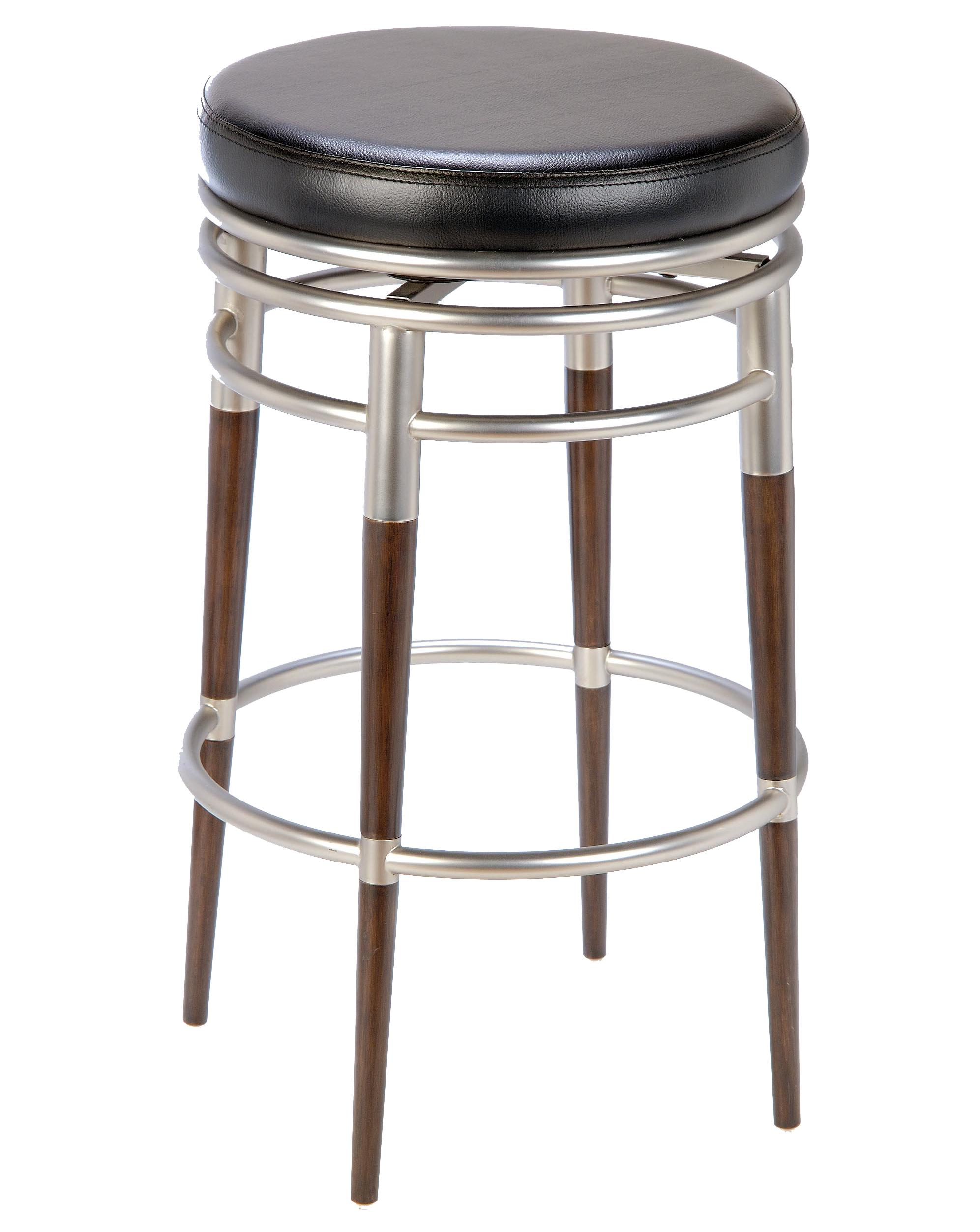 30 Salem Backless Swivel Bar Stool By Hillsdale Wolf And Gardiner