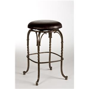 Hillsdale Backless Bar Stools Keene Backless Swivel Bar Stool