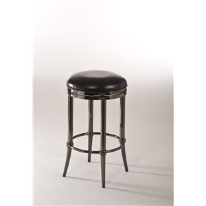 Hillsdale Backless Bar Stools Cadman Backless Bar Stool-Fully Assembled