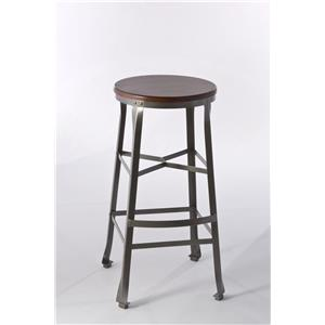 Hillsdale Backless Bar Stools Woolrich Backless Bar Stool