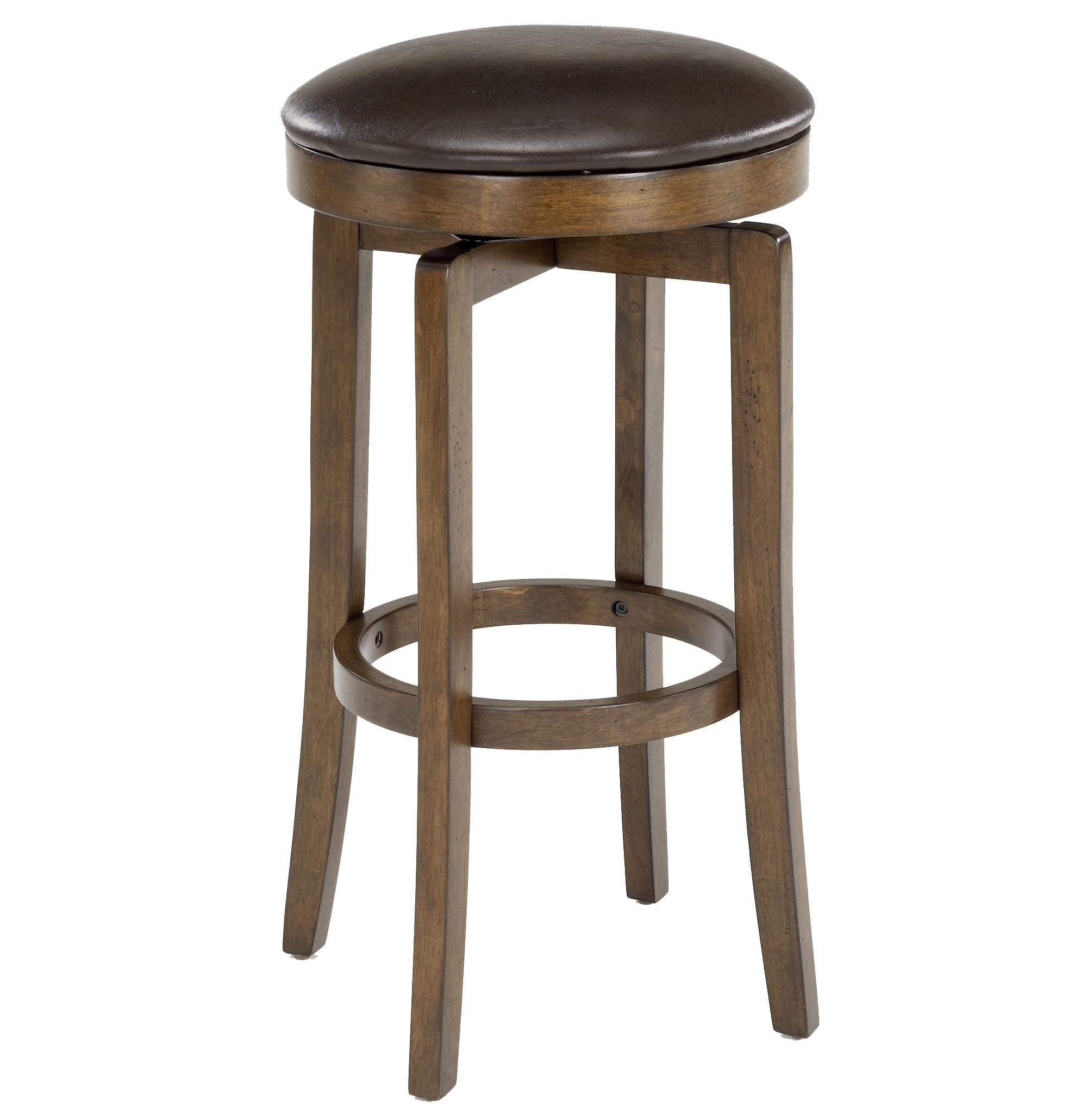 Quot brendan backless bar stool by hillsdale wolf and