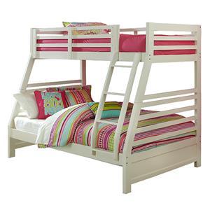 Hillsdale Bailey Mission Oak Twin/Full Bunk Bed