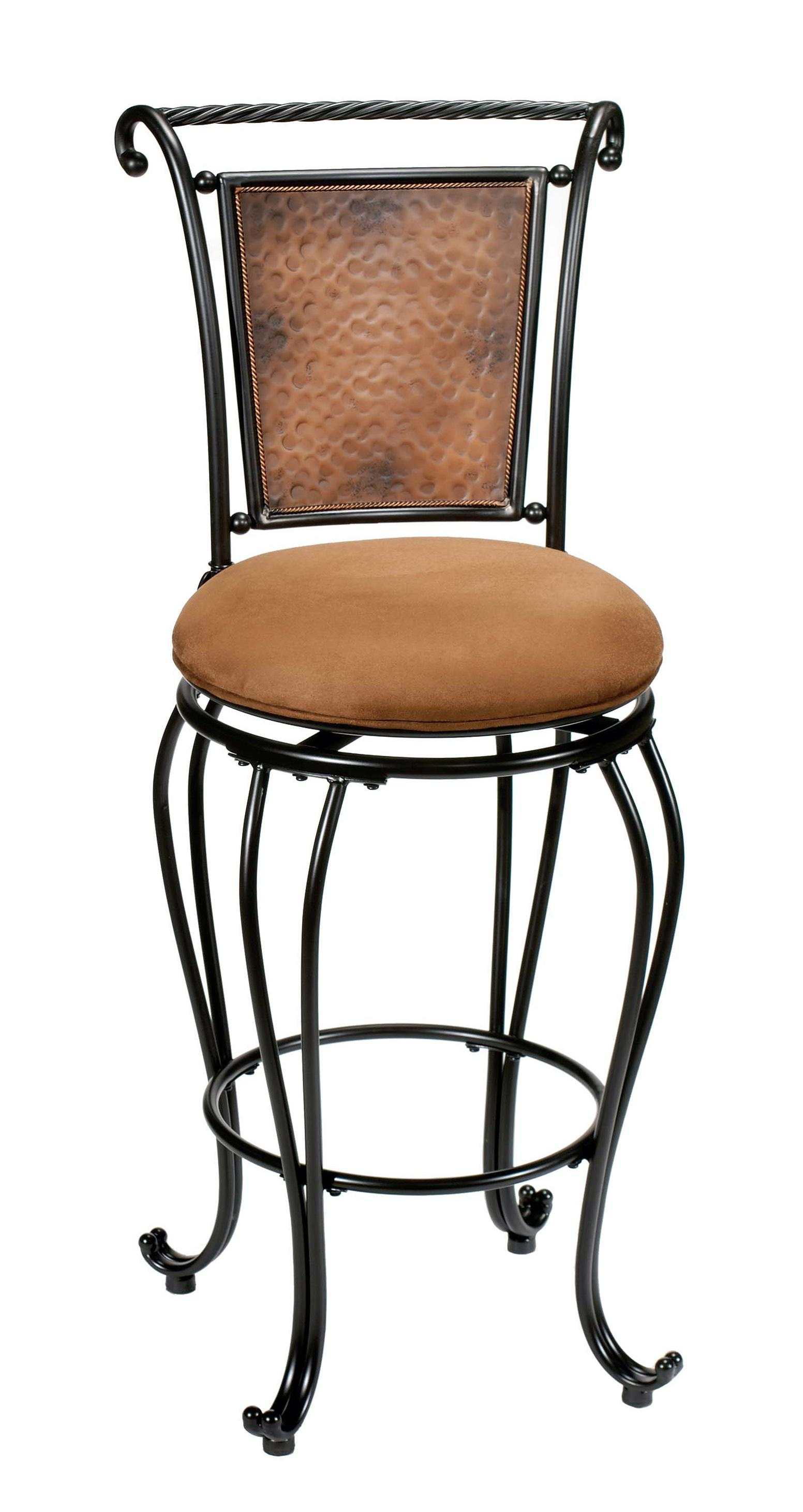 24 Quot Counter Height Milan Swivel Stool By Hillsdale Wolf