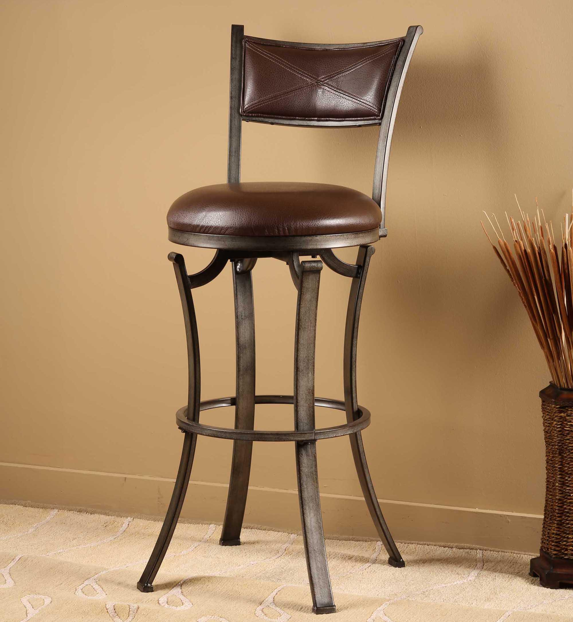 Drummond Swivel Bar Stool & Drummond Swivel Bar Stool by Hillsdale | Wolf and Gardiner Wolf ... islam-shia.org