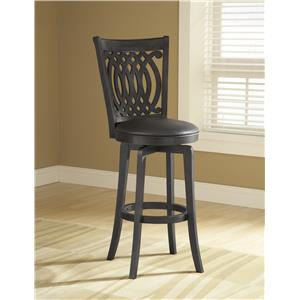 Hillsdale Metal Stools Van Draus Swivel Counter Stool