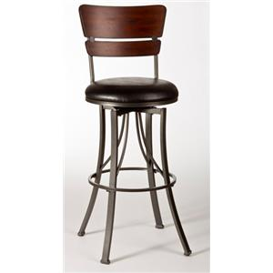 "Morris Home Furnishings Metal Stools Shelby 30"" Barstool"